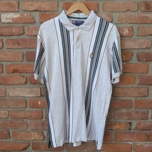 Vintage Chaps Ralph Lauren striped polo shirt